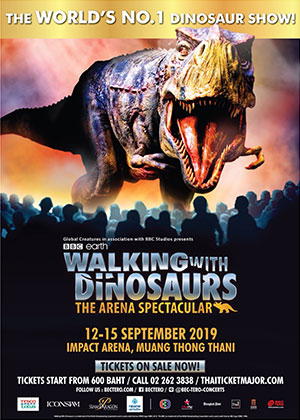 WALKING WITH DINOSAURS, THE ARENA SPECTACULAR