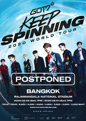 GOT7 2020 WORLD TOUR<br>'KEEP SPINNING' IN BANGKOK